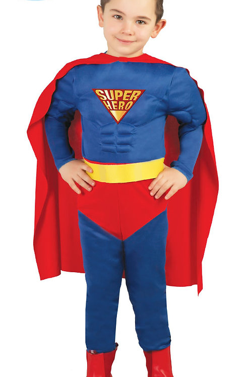 Disfraz Músculos Super Héroe