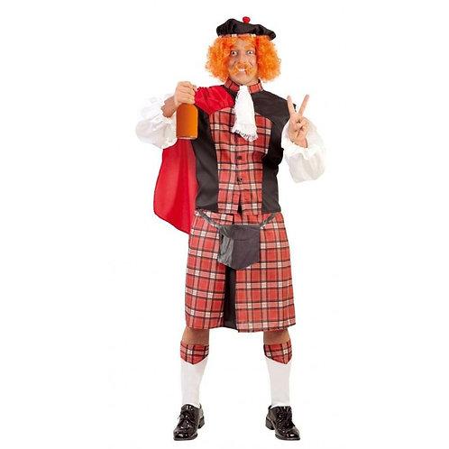 Disfraz Escocés
