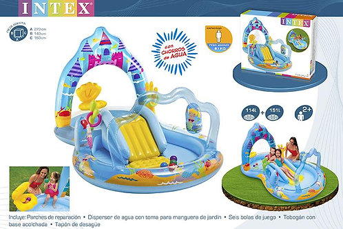 CENTRO JUEGOS AGUA MERMAID KINGDOM 279X160X140 CM