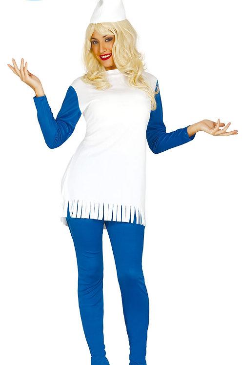Disfraz Enanita azul