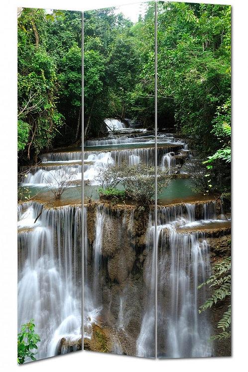 Biombo estampado río 180x120cm