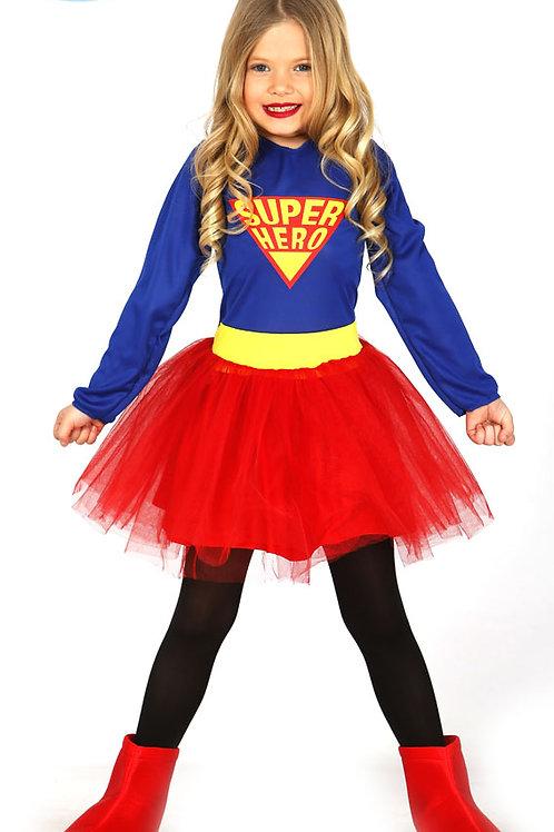 Disfraz Super Hero Chica