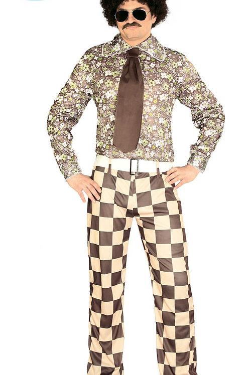 Disfraz Brady Años 80