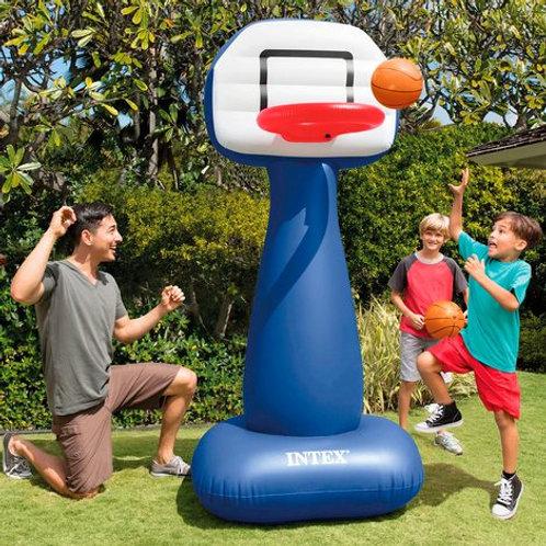 Canasta baloncesto hinchable Intex