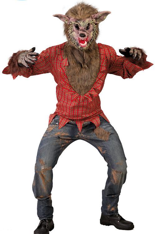 Disfraz lobo feroz
