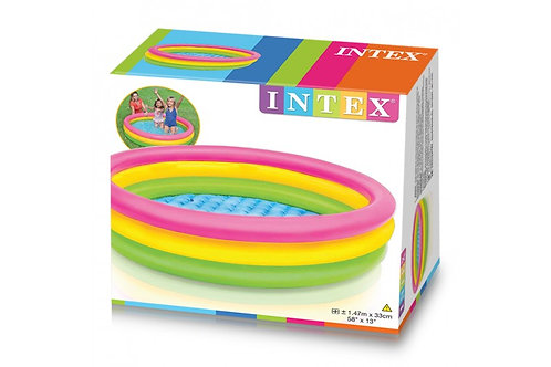 PISCINA HINCHABLE INTEX 3 AROS COLORES