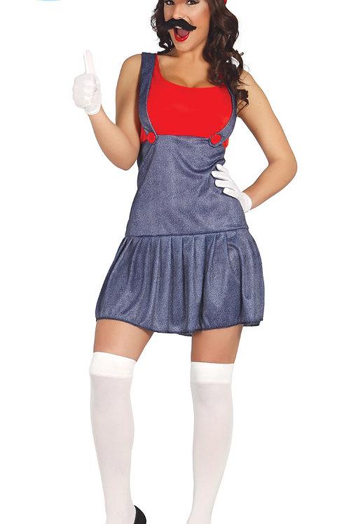 Disfraz Maquinista Mujer