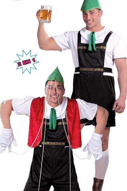 Disfraz Marioneta + Tirolés