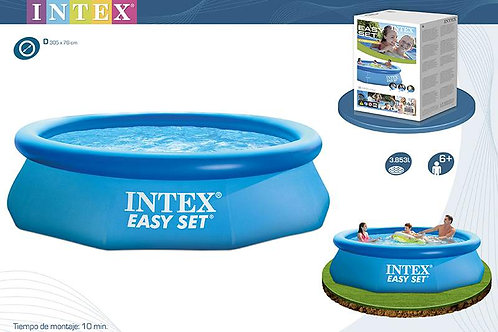 PISCINA EASY  HINCHABLE con DEPURADORA