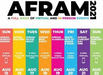 AFRAM is Back, Baltimore's week-long hybrid festival