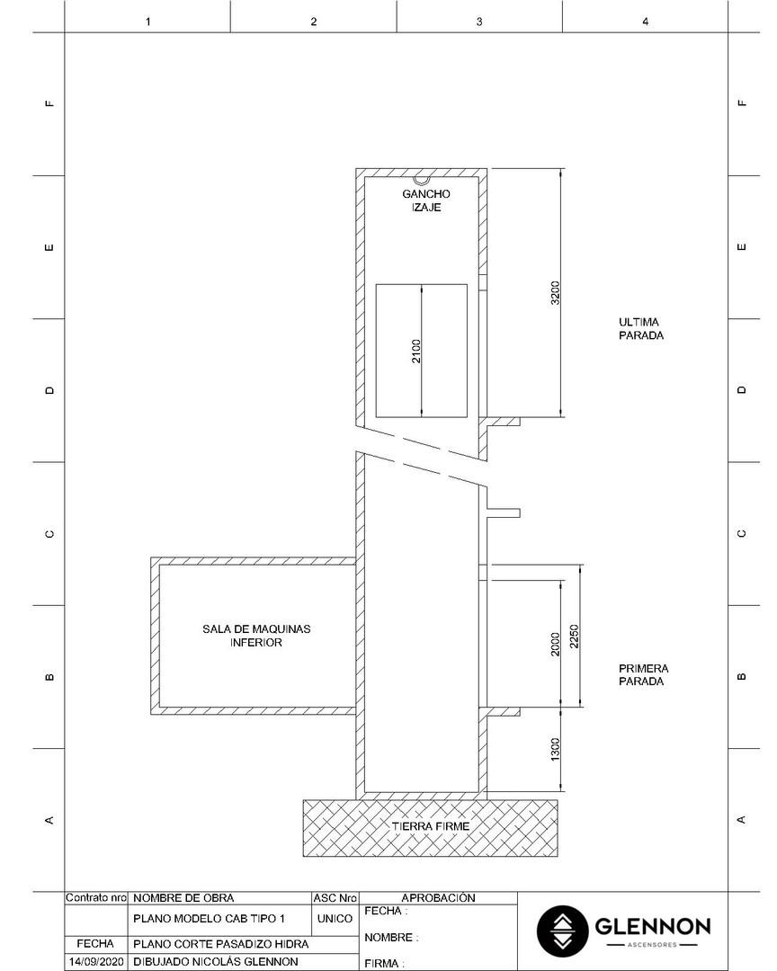 Corte Pasadizo Hidraulico