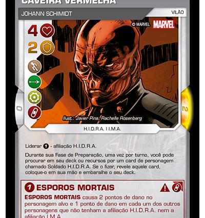 BSFE 006 - Caveira Vermelha V2 (SR)
