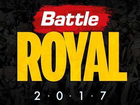 Battle Royal 2017 - Kit de Inscrição Divulgado.