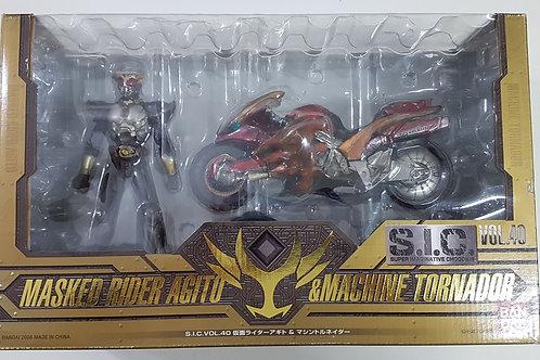 S.I.C. Vol. 40 - Kamen Rider Agito & Tornado
