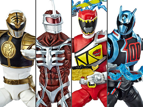 Power Rangers Lightning Collection Wave 01 - POR ENCOMENDA