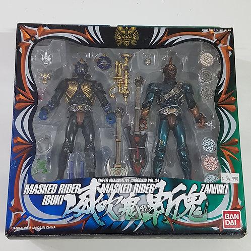 S.I.C. Vol. 34 - Kamen Riders Ibuki & Zank