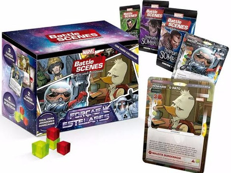 Novo Produto Battle Scenes: Master Box Forças Estelares!
