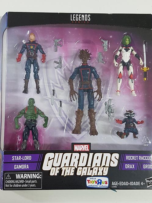 Kit Guardiões da Galáxia Marvel Legends Series