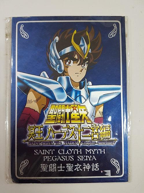 Metal Plate Seiya de Pegasus