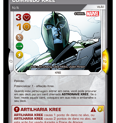 BSFE 008 - Comando Kree (I)
