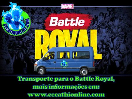 Transporte para o Battle Royal, saindo de Santos / S.P.
