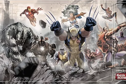 Playmat Oficial Marvel Battle Scenes