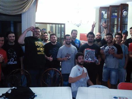 Ultimo Treino na Cecathi com o campeão da Liga no Topo!!!