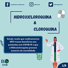 Hidroxicloroquina e cloroquina
