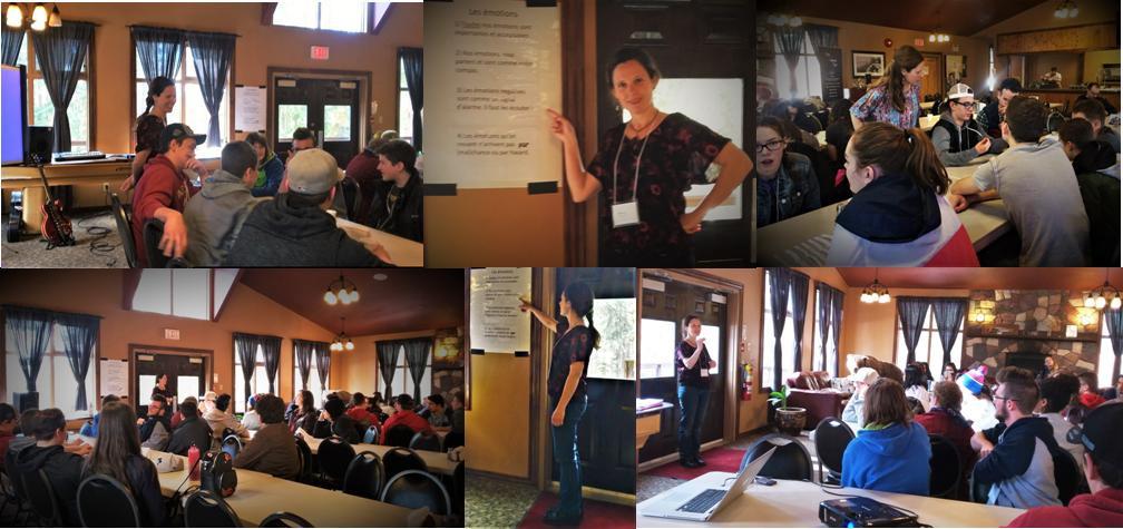 Emotional Intelligence Workshop with Teens in Nordegg