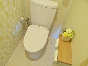トイレの工事