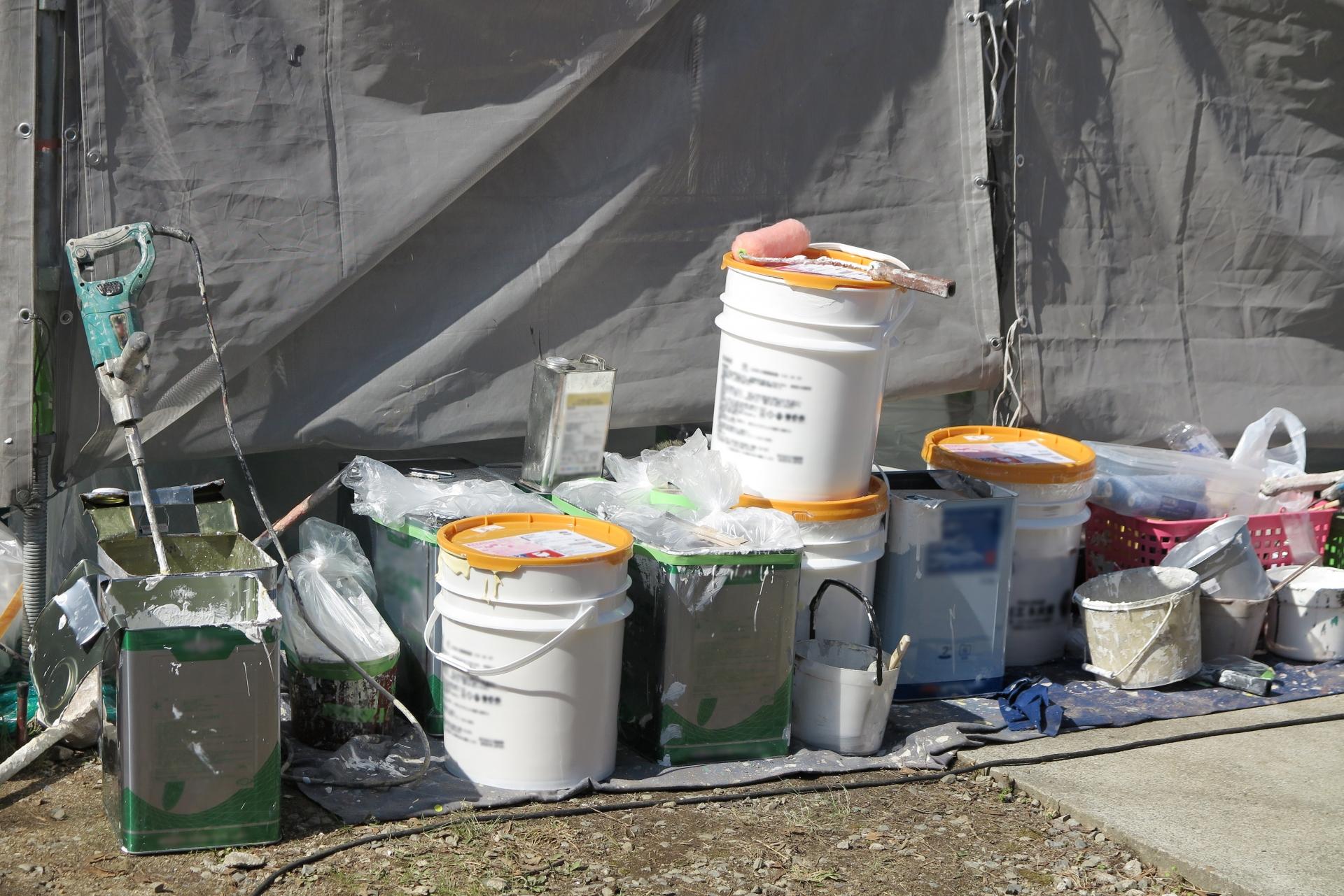 塗装工事道具