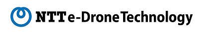 NTT e-Droneロゴ