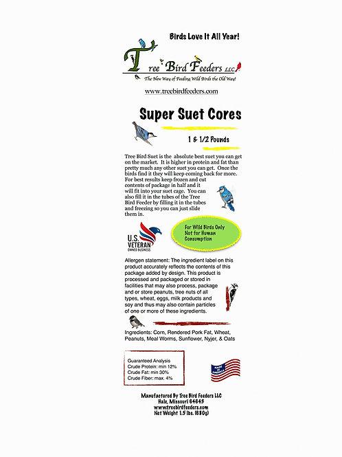 Tree Bird Super Suet Cakes 8 lb