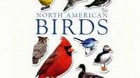 North American Birds Sticker Book