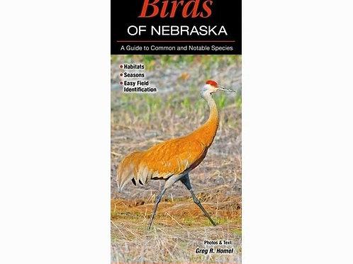 Birds Of Nebraska Foldout Guide