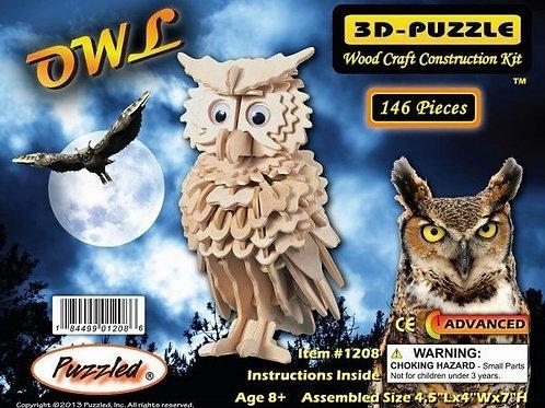 Owl – 3D Puzzles