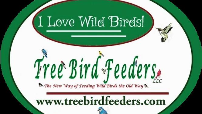 I Love Wild Birds Bumper Sticker