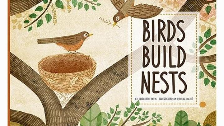 Birds Build Nest