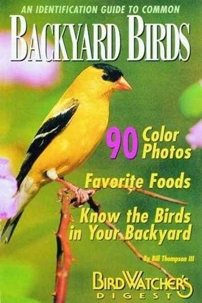 An Identification Guide to Common Backyard Birds