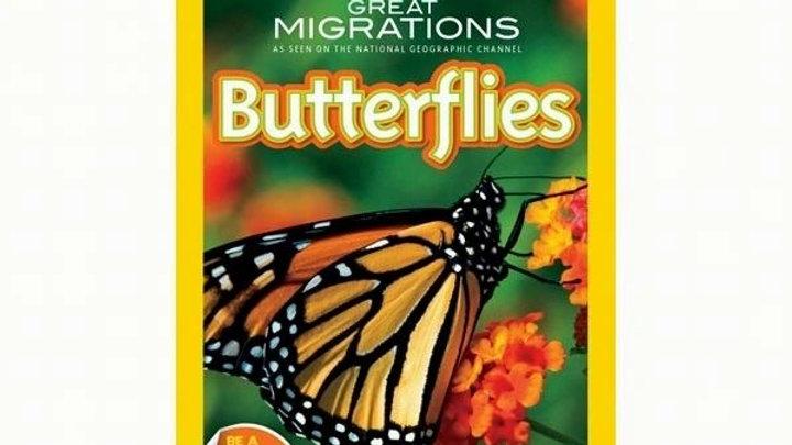 Nat Geo Readers Great Migrations Butterflies