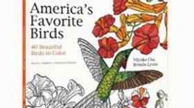 Americas Favorite Birds Coloring Book