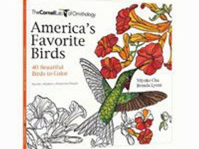 Americas Favorite Birds Coloring Book