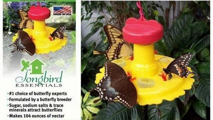 Butterfly Feeder Nectar Combo