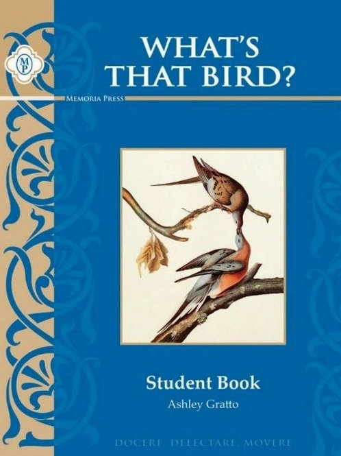What's That Bird Extra Student Materials