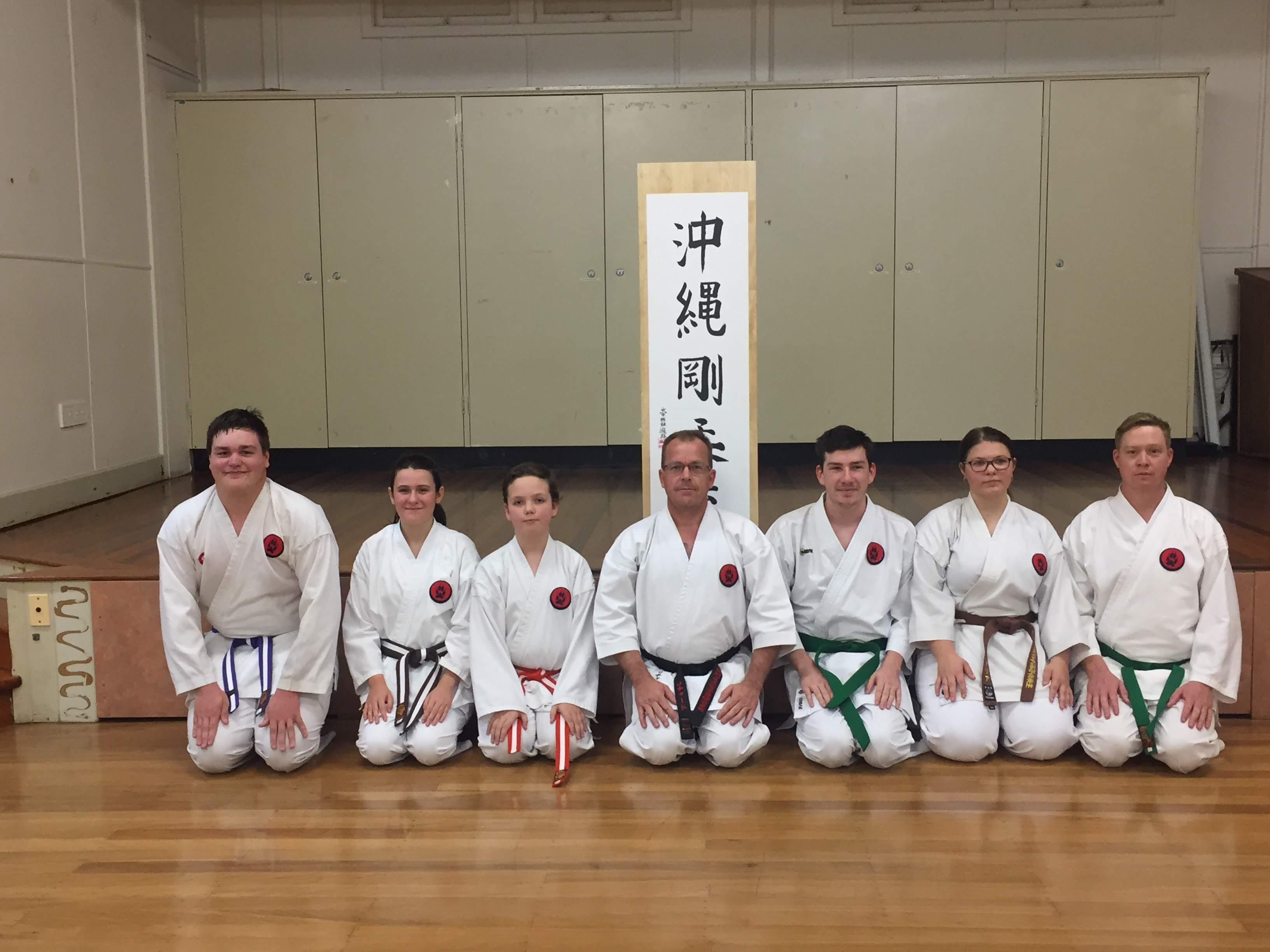 Tora Dojo Grading June 2019