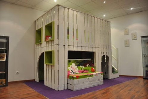 Boys Bunk Play House