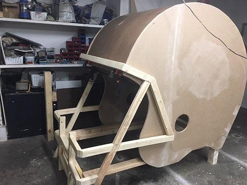 Custom Football Helmet Bed