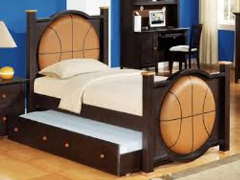 Twin Basketball Bed