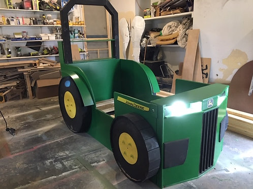 Tractor Bed with Lights