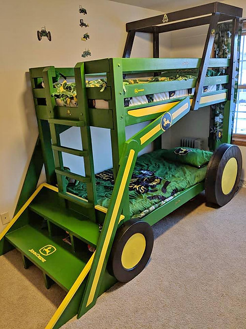 Green Tractor Bunk